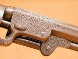 Colt 1849 Pocket (Gustav Young Engraved, 5-inch, w/ Case, Extras) - 15 of 25
