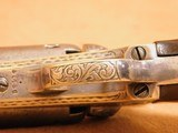 Colt 1849 Pocket (Gustav Young Engraved, 5-inch, w/ Case, Extras) - 23 of 25
