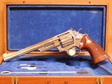 Smith and Wesson Model 27-2 (Nickel, 8-3/8-inch, w/ Presentation Case)