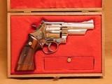 Smith & Wesson Model 27-2 (4-inch, Nickel, w/ Presentation Case)