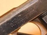 Webley Scott Model 1909 Self-Loading Pistol (RARE 1 of 1700) - 5 of 13