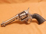 Colt SAA Single Action Army (.38-40, 4-3/4-inch, w/ Factory LETTER, Mfg 1895, ANTIQUE)