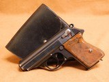 Walther PPK Type 5 (SS Issue w/ Matching Mag, Holster) Nazi German WW2