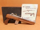 iver johnson's arms m1 carbine enforcer pistol w/ box (stainless steel)