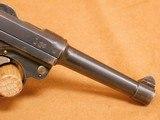 Erfurt P.08 Luger (2 Original Mags, 1918-dated) German/Prussian WW1 - 8 of 20
