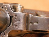 Erfurt P.08 Luger (2 Original Mags, 1918-dated) German/Prussian WW1 - 12 of 20