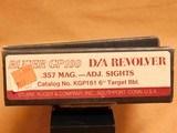 Ruger GP100 (357 Magnum, 6-Shot, 6-inch, KGP161/01707, 1990) GP-100 - 14 of 14
