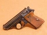 Walther PPK (Eagle/C, Police, 1941, Early High Polish) German Nazi WW2