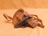 Walther PPK w/ Holster (Early, 1932, Second Year Production, 32 ACP)