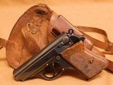 Walther PPK w/ Holster (Early, 1932, Second Year Production, 32 ACP) - 2 of 14