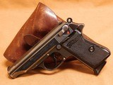 Walther PP w/ Holster (1938) Nazi German WW2 - 1 of 15
