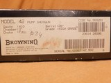 NEW IN BOX Browning Model 42 HIGH GRADE (410 Bore/Ga, 26-inch) - 11 of 11