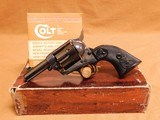 Colt Single Action Army Sheriff's Model (44-40, 3-inch, 1980, Blued Case) SAA