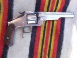 Smith and Wesson 2nd Model Russian nice original finish and good bore