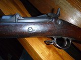 !873 Trapdoor Springfield made 1875 Very nice bore and wood