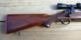 Ruger 77 RSI Mannlicher in 250 Savage with Leupold Scope - 2 of 3
