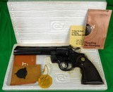 Colt Python 6 inch Blued in 357 magnum made in 1977 made in 1977 - LIKE NEW!