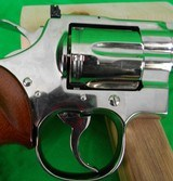 Colt Python 4 inch Nickel in 357 magnum made in 1979 - 5 of 13