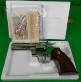 Colt Python 4 inch Nickel in 357 magnum made in 1979 - 11 of 13