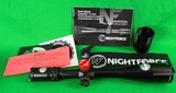 Nightforce Competition 15-55x52 - Like new C512