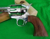 Colt Single Action Army 3rd Generation Nickel Buntline Special 45 Long Colt LC New in Box - 4 of 12