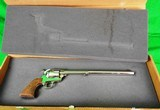 Colt Single Action Army 3rd Generation Nickel Buntline Special 45 Long Colt LC New in Box - 2 of 12
