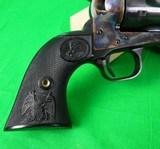 Colt Single Action Army Buntline Special 3rd Generation 45 Long Colt - Blued - Like new - 8 of 11