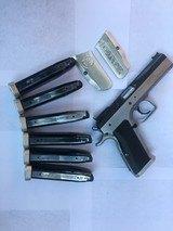 Tanfoglio Witness Elite Stock II - 9mm EAA Pistol