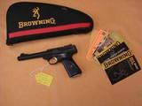 Browning Buckmark, threaded barrel