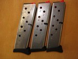 Smith and Wesson 3913, 9mm magazines