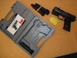 Heckler & Koch USP, .40 S&W with laser