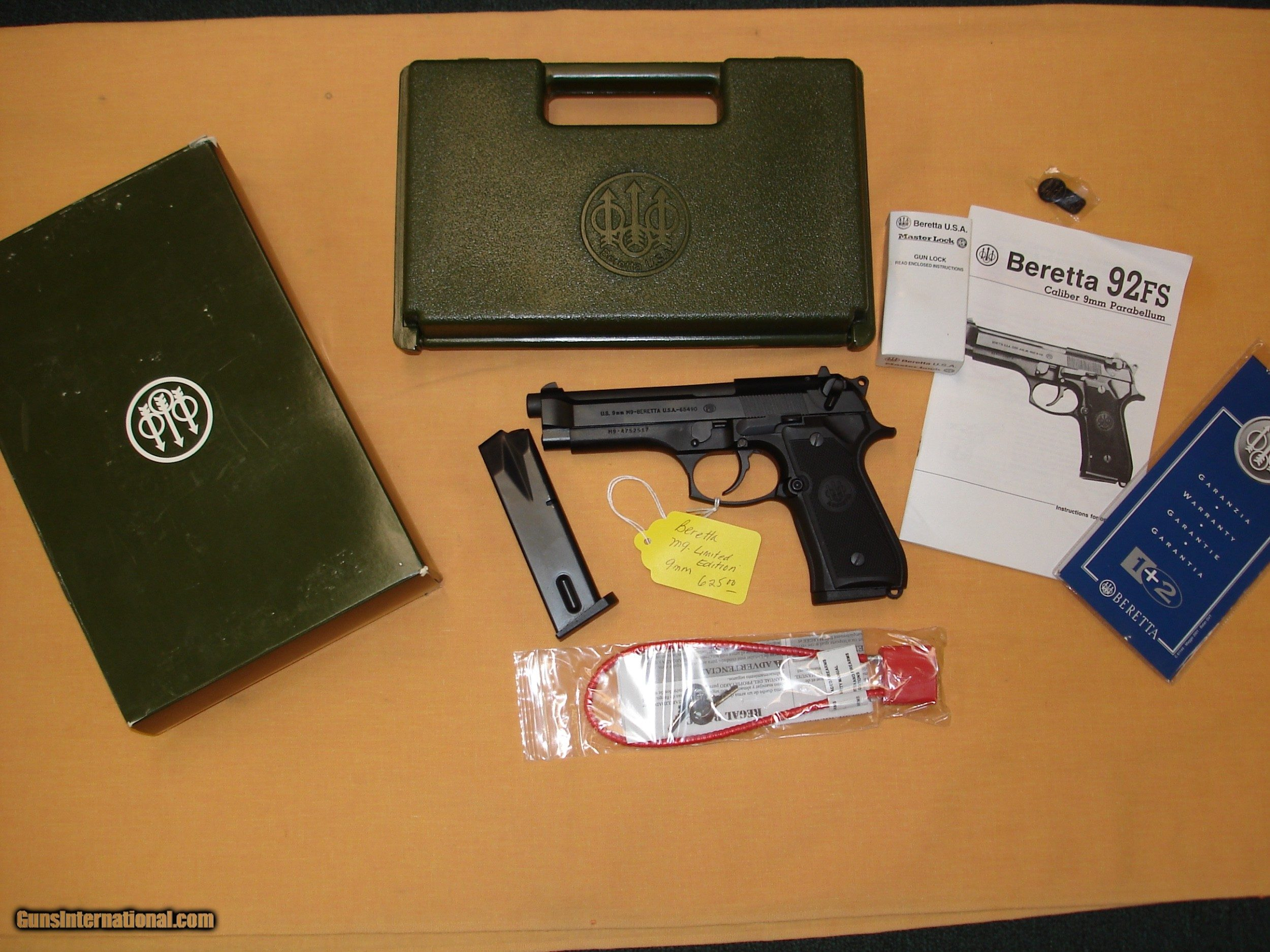 Beretta M9 Limited Edition for sale