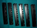 Heckler & Koch MP5 magazines. 9mm