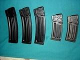 Heckler & Koch HK 93 mags. Group of 5, .223 caliber - 2 of 6