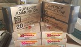 450-400 Factory Ammo..120 rounds total..80 Hornady & 40 Superior Ammo