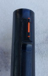 "Remington 1100 Slug barrel..Rifle Sights..24"" smoothbore - 8 of 10"