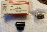 Redfield Model 63/64 Globe Front Sight w/8 inserts...NEW OLD STOCK!!! - 2 of 11