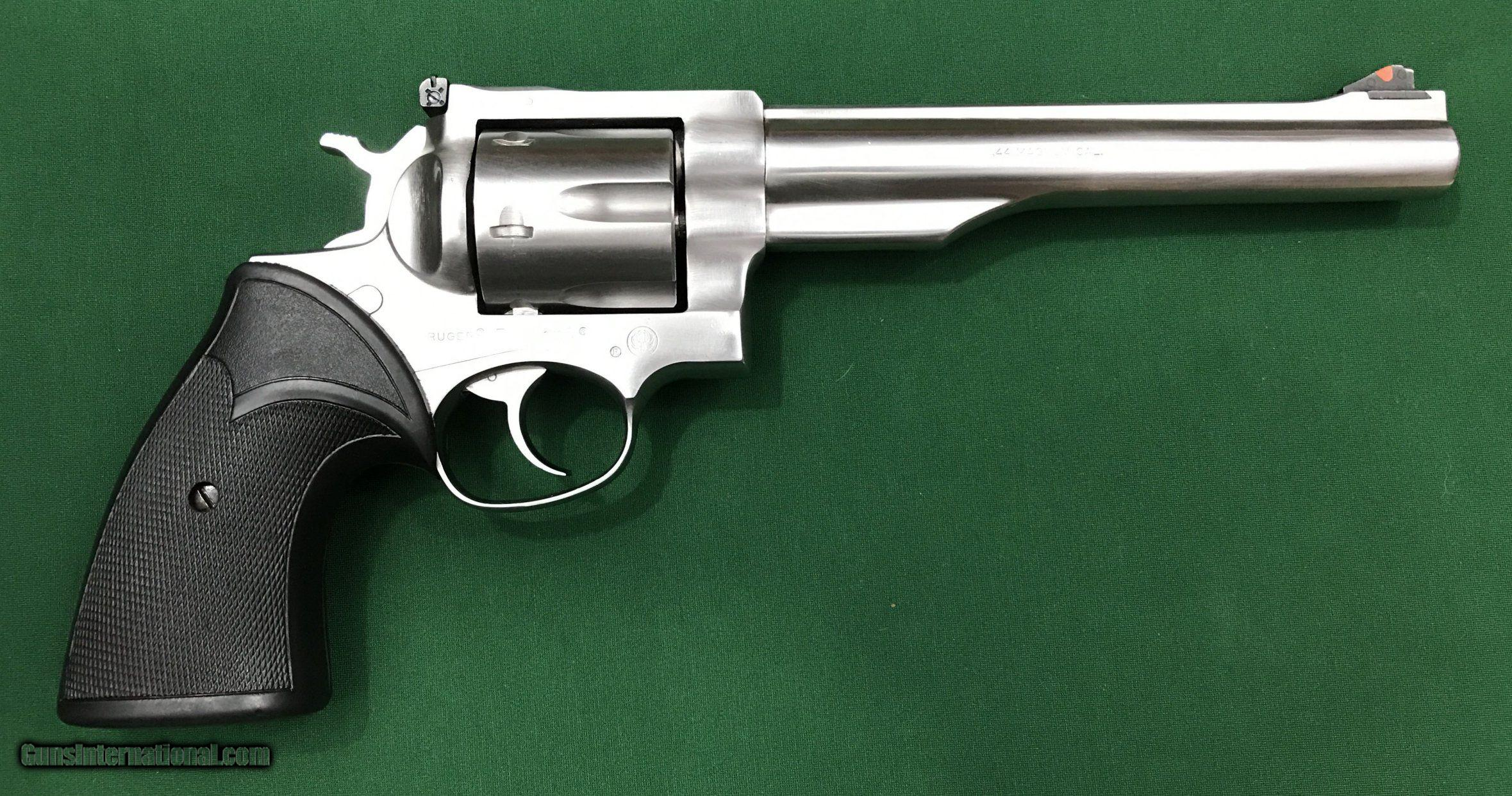 ruger redhawk 44 magnum stainless steel single action double