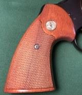 "Colt Python, .357 Magnum, 1972, 4"" Barrel, All Original - 3 of 10"