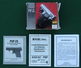 Precision Small Parts, PSP-25 (Baby Browning) Semi-Automatic Pistol, Made in Charlottesville, Virginia - 9 of 10