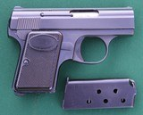 Precision Small Parts, PSP-25 (Baby Browning) Semi-Automatic Pistol, Made in Charlottesville, Virginia