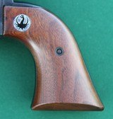 Ruger Hawkeye, .256 WinMag, Single-Shot Pistol, with M8-2X Leupold ScopeYOM: 1963ONLY 3,075 MADE - 4 of 15