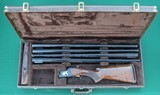 Browning Citori, Grade 6, Four-Barrel Skeet Set with 12, 20, and 28 gauge barrels, a .410 barrel, and the Original Carry Case - 1 of 13