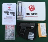 ruger lc9 ct, 9mm semi automatic pistol with crimson trace laser sight