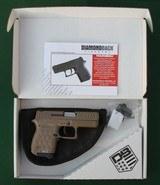 diamondback model db9, 9mm, semiautomatic pistol