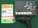 Taurus PT709 Slim, 9mm Semi-Automatic Pistol