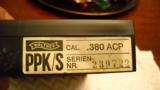Walther PPK/S .380 Mint in Box - 2 of 5