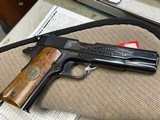 Colt 1911 World War 1 Commemorative Set of 4 1911, 45 ACP Pistols, Meuse Argonne, Belleau Wood, Chateau Thierry, 2nd Battle of the Marne, All SN 1636 - 15 of 15