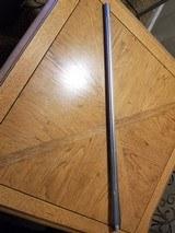 257 weatherby mag barrel