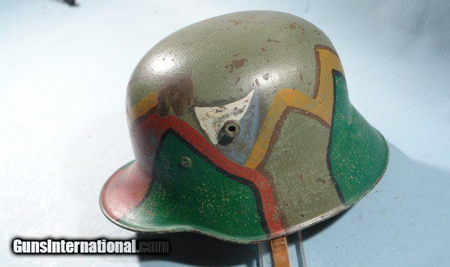 SUPERIOR WW1 OR WWI IMPERIAL GERMAN M-16 TORTOISE CAMO